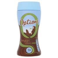 Options Belgian Chocolate Mint Drinking Chocolate 198g