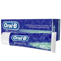 Oral B Toothpaste 3D White Soft Mint 75ml