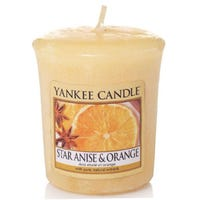 Yankee Votive Star Anise And Orange 49g