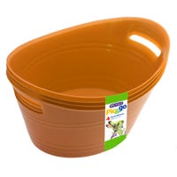 Edgo Pick and Go Baskets Orange 4 Pack