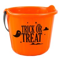 Trick Or Treat Bucket Orange