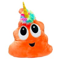 Plush Poonicorn Orange 16 Inch