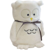 Cuddle Owl Blanket Cream