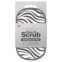 2 in 1 Antibacterial Scrubbing Pad in Zebra Print