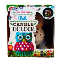 Grafix Paint Your Own Owl Candle Holder