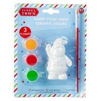 Tinseltown Paint Your Own Santa