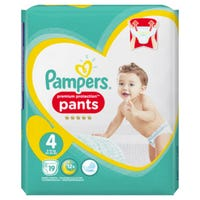 Pampers Active Nappy Pants Size 4 19 Pack