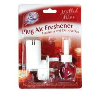 Pan Aroma Plug In Air Freshener Mulled Wine