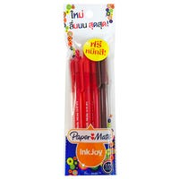 Papermate Inkjoy Retractable Ballpoint Pen Assorted 4 Pack