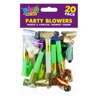 Party Blowers 20 Pack