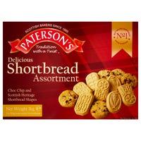 Paterson Shortbread Assortment Selection 1kg