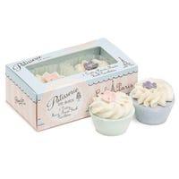 Patisserie de Bain Bath Tartlets Rose and Violette
