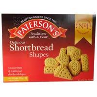 Paterson Shortbread Shapes Selection 500g