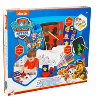 Paw Patrol Scratch, Stencil and Sticker Set