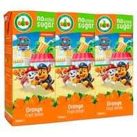 Paw Patrol Orange Fruit Drinks 3 Pack