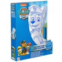 Paw Patrol Colour Your Own Cushion Chase