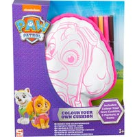 Paw Patrol Skye Colour Your Own Cushion