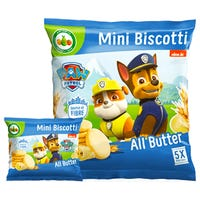 Paw Patrol All Butter Mini Biscotti 5 Pack