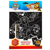 Paw Patrol Scratch Art Set
