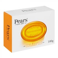 Pears Transparent Soap Amber Bar 100g