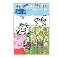 Peppa Pig Colouring Activity Set