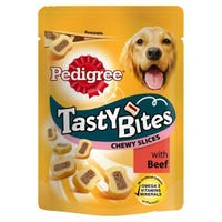 Pedigree Tasty Bites Beef 155g