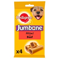 Pedigree Jumbone Beef Flavour for Small Dogs 4 Pack