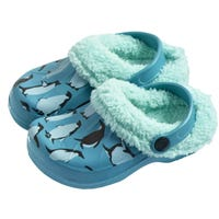 Briers Kids Penguin Clogs 4-5