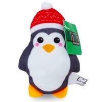 Christmas Mini Plush Penguin Figure 10cm