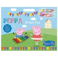 Peppa Pig Artist and Sticker Pad