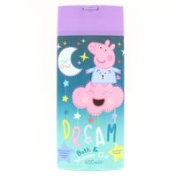 Peppa Pig Bath & Shower Gel 400ml (night time bottle)