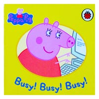 Peppa Pig Busy! Busy! Busy! Book