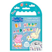 Peppa Pig Carry Along Colouring Set