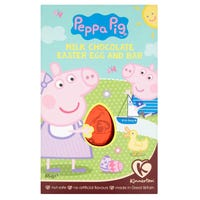 Kinnerton Peppa Pig Milk Chocolate Easter Egg and Bar