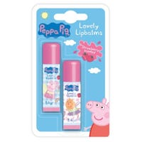 Peppa Pig Lip Balm Strawberry 2 Pack