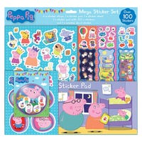 Mega Sticker Set Peppa Pig