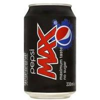Pepsi Max 330ml     Short Dated