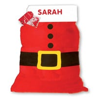 Personalised Santa Sack with Letters