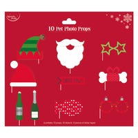 Christmas Pet Photo Props 10 Pack