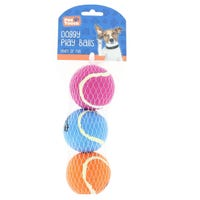 Pet Touch Doggy Play Balls 3 pack