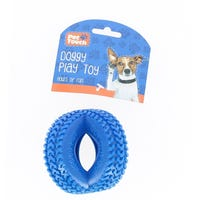 Pet Touch Tyre Dog Toy Blue