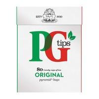 PG Tips 80 Pyramid Bags