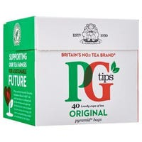 PG Tips 40 Pyramid Teabags