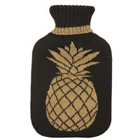 Pineapple Range 2L Knitted Hot Water Bottle