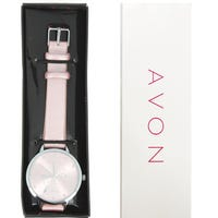 Avon Prosecco Pop Watch Silver And Pink