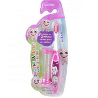 Kids Toothbrush With Timer Pink