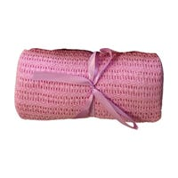Kids Baby Cellular Blanket 60x90cm Pink