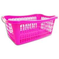 Handy Basket Pink 36cm x 24cm x 15cm