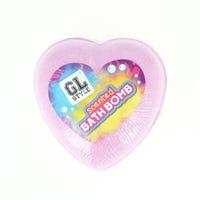 Fragranced Bath Bomb Heart Pink