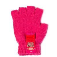 Ladies Thermal Fingerless Gloves Pink